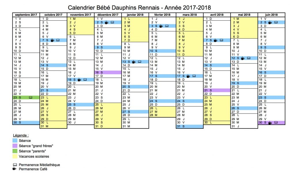 calendrier bbdr 2017-2018